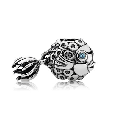 Splish-Splash, Deep Blue Topaz - 791108TPP - Charms - PANDORA