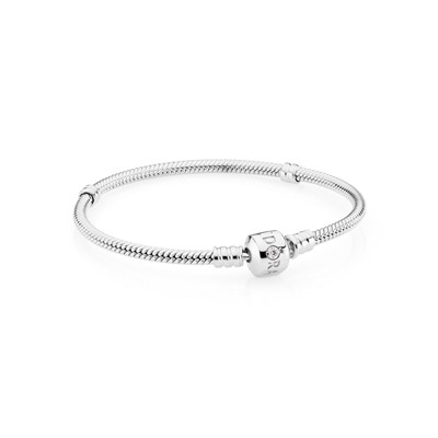 White Gold Bracelet 0 02ct Gh Vs Diamond 550702wd Bracelets Pandora