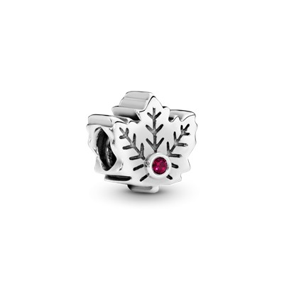 Maple Leaf Charm 791215sru Charms Pandora