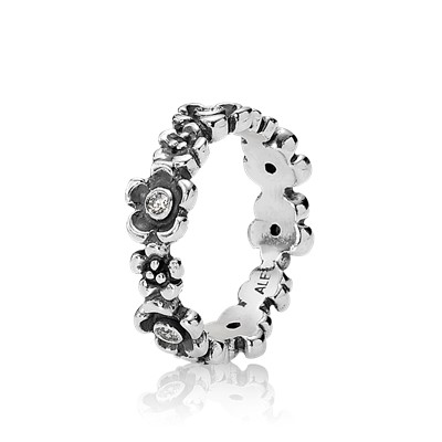 Flower Ring 190122cz Rings Pandora