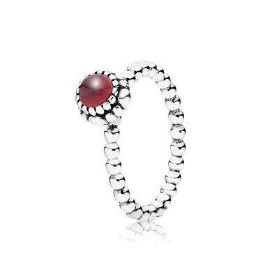 how to clean pandora birthstone ring