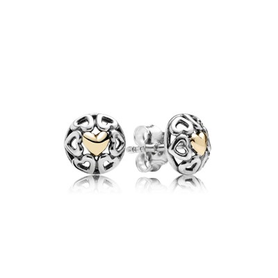 My One True Love Stud Earrings 290557 Earrings Pandora