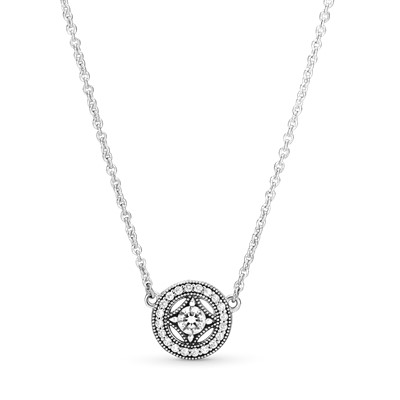 Vintage allure pendant necklace clear cz 590523cz 45 vintage allure pendant necklace clear cz 590523cz 45 mozeypictures Gallery